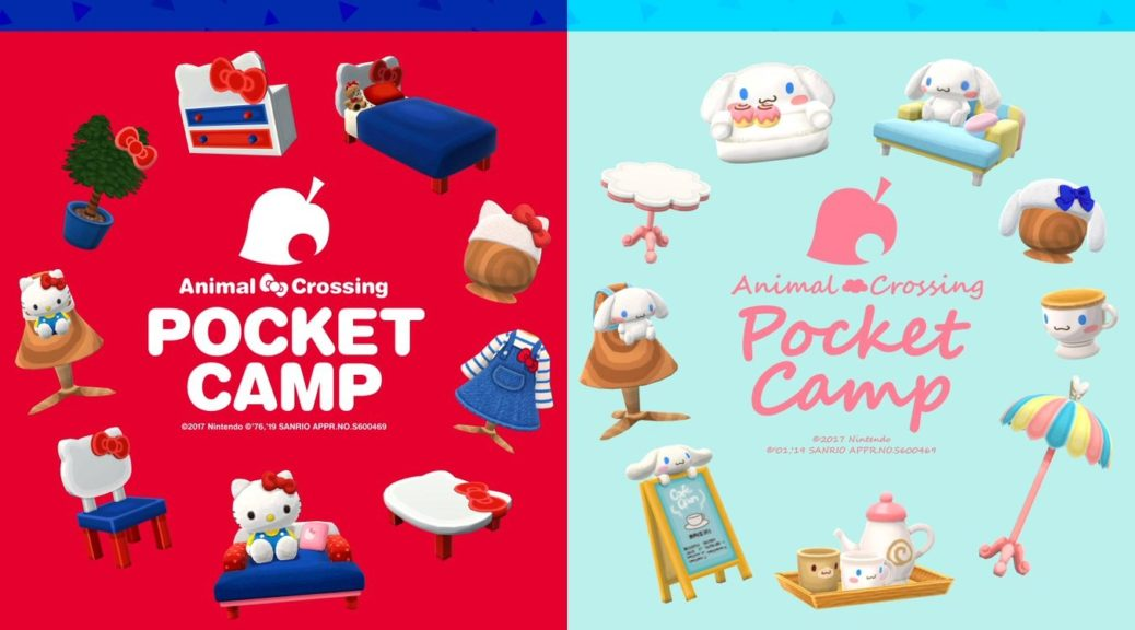 Animal Crossing Pocket Camp Sanrio Collaboration Mobile