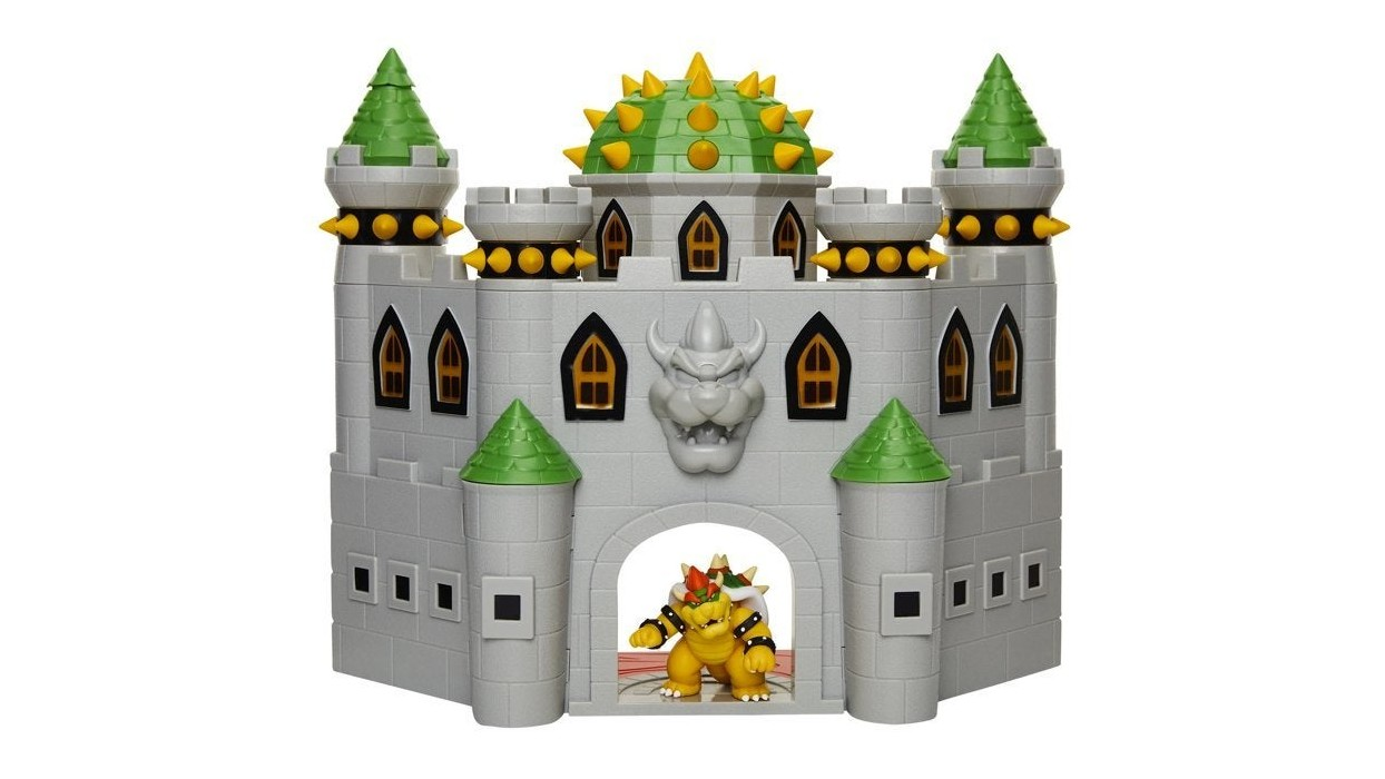 Jakks Pacific Is Releasing A Deluxe Bowser's Castle Playset