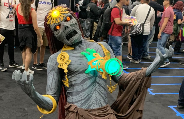 Creepy Ganondorf From Breath Of The Wild 2 Has Been