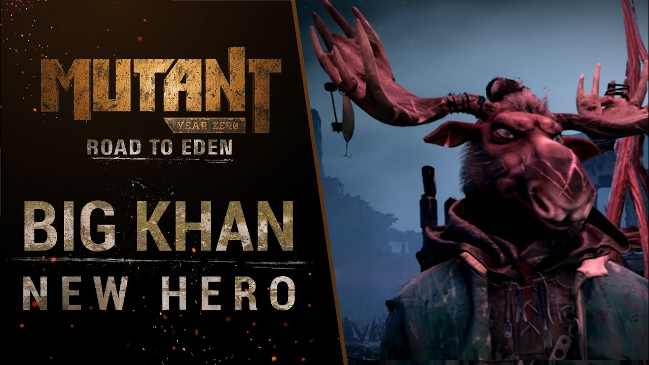 Mutant Year Zero: Road To Eden Deluxe Edition Will Include The Seed Of Evil Expansion, Big Khan Revealed