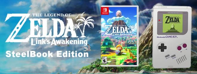 Pre-order The Legend of Zelda: Link's Awakening SteelBook Edition!