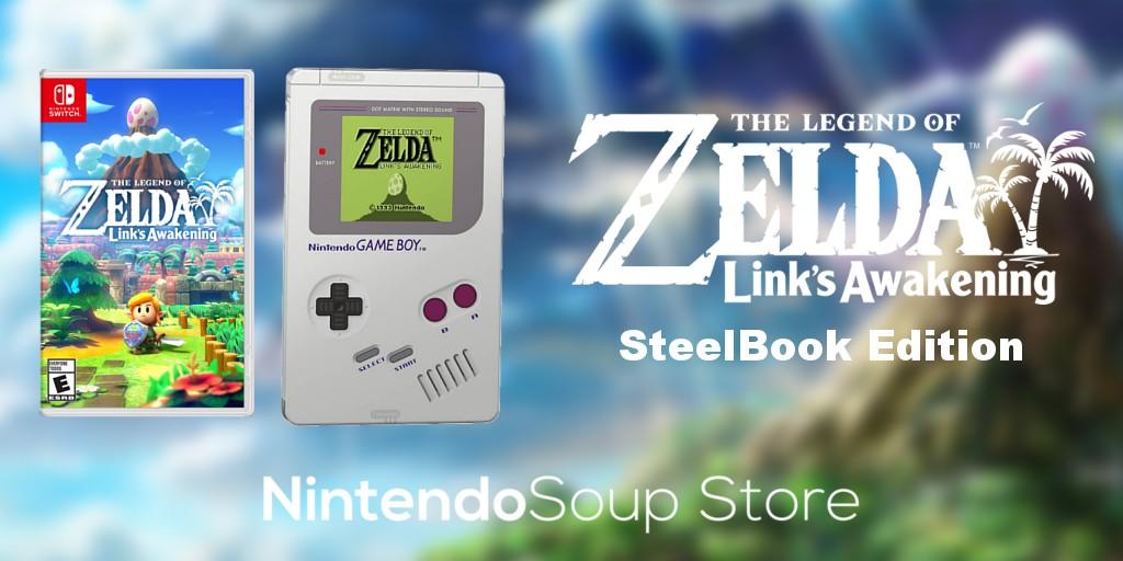 The Legend Of Zelda Link S Awakening Steelbook Edition Up