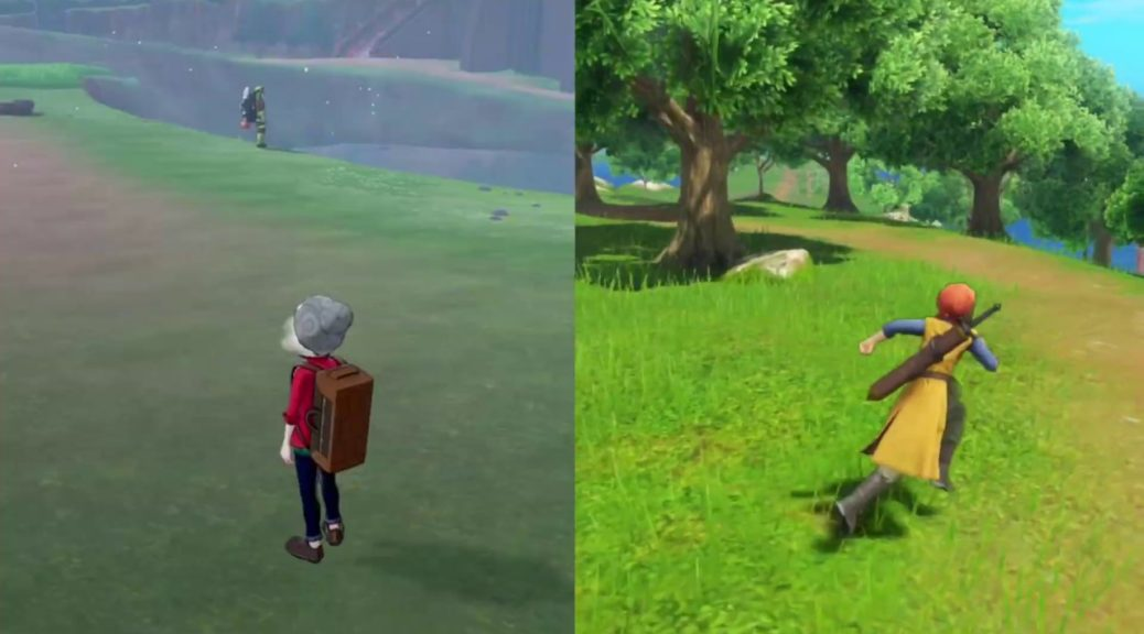 Pokemon Fans Are Comparing Graphics And Animations Between Sword
