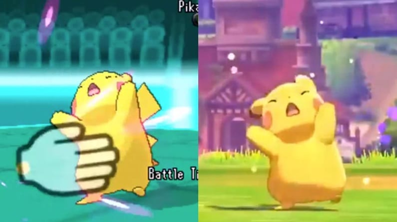 Pokemon Sword And Shield Uses Recycled Animations From 3ds Games