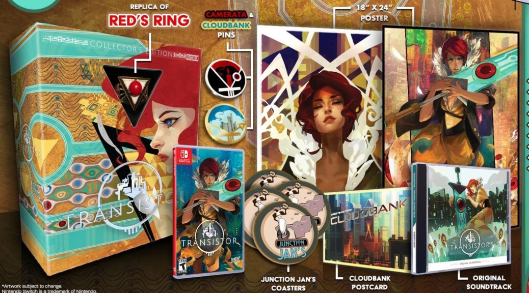 Limited Run Games Reveal Contents Of Transistor Collector's