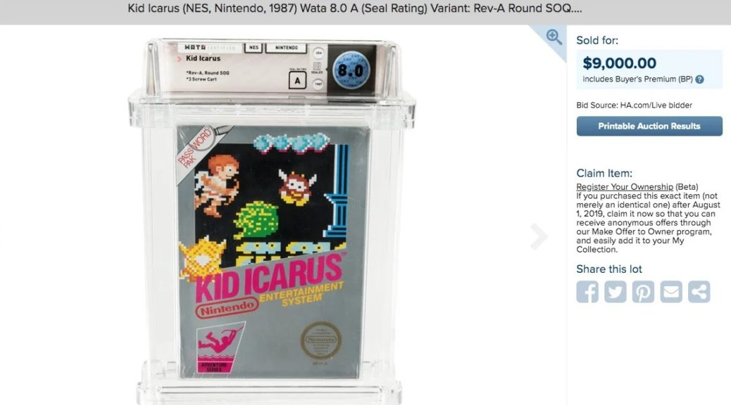 Sealed Copy Of Kid Icarus (NES) Unearthed In Attic After 30 Years
