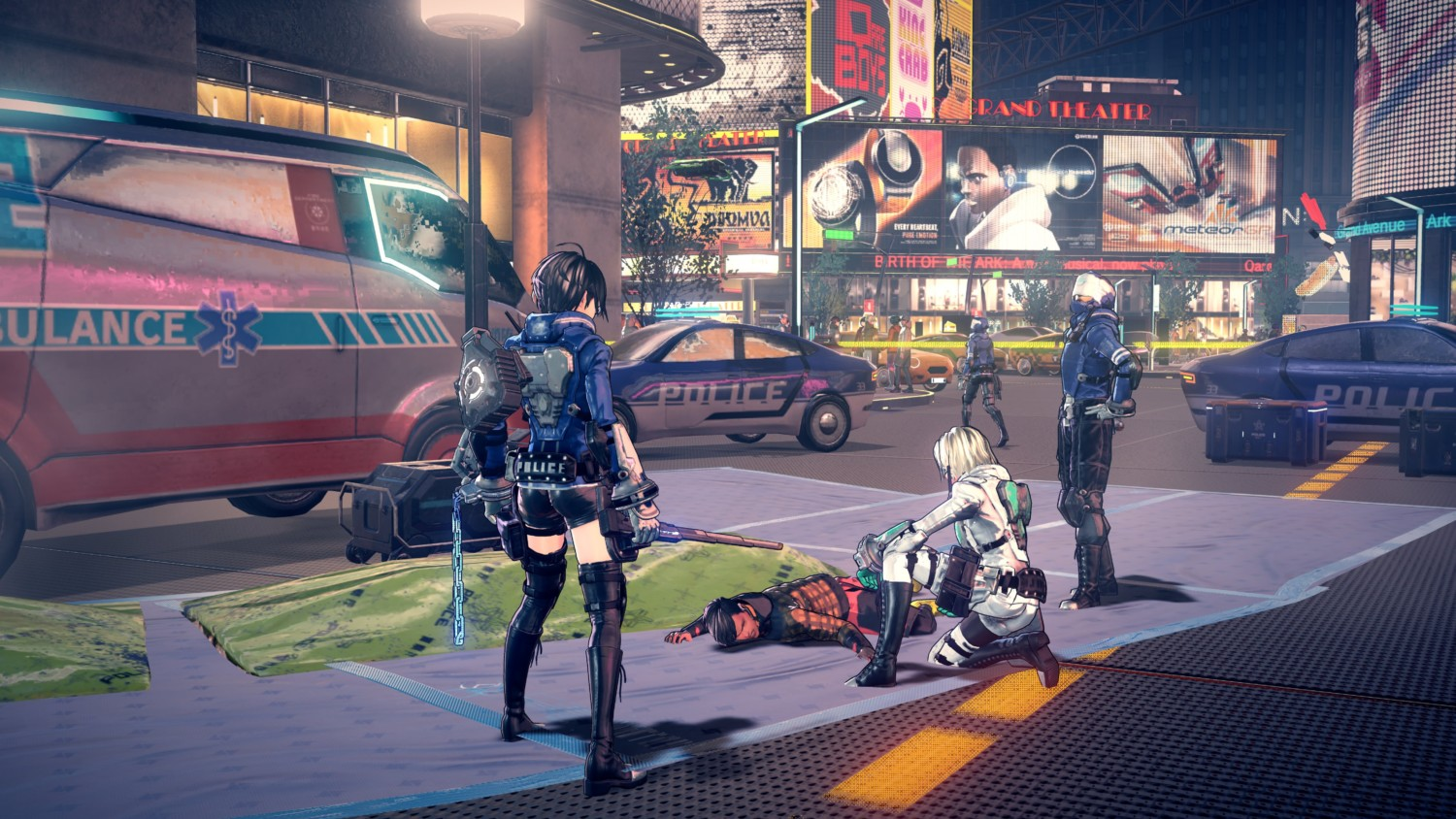 Astral Chain Introduces The Arrow Legion, Police Investigations, IRIS System, & Character Customization