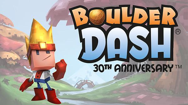 Boulder Dash 30th Anniversary Will Be Crashing Onto Switch