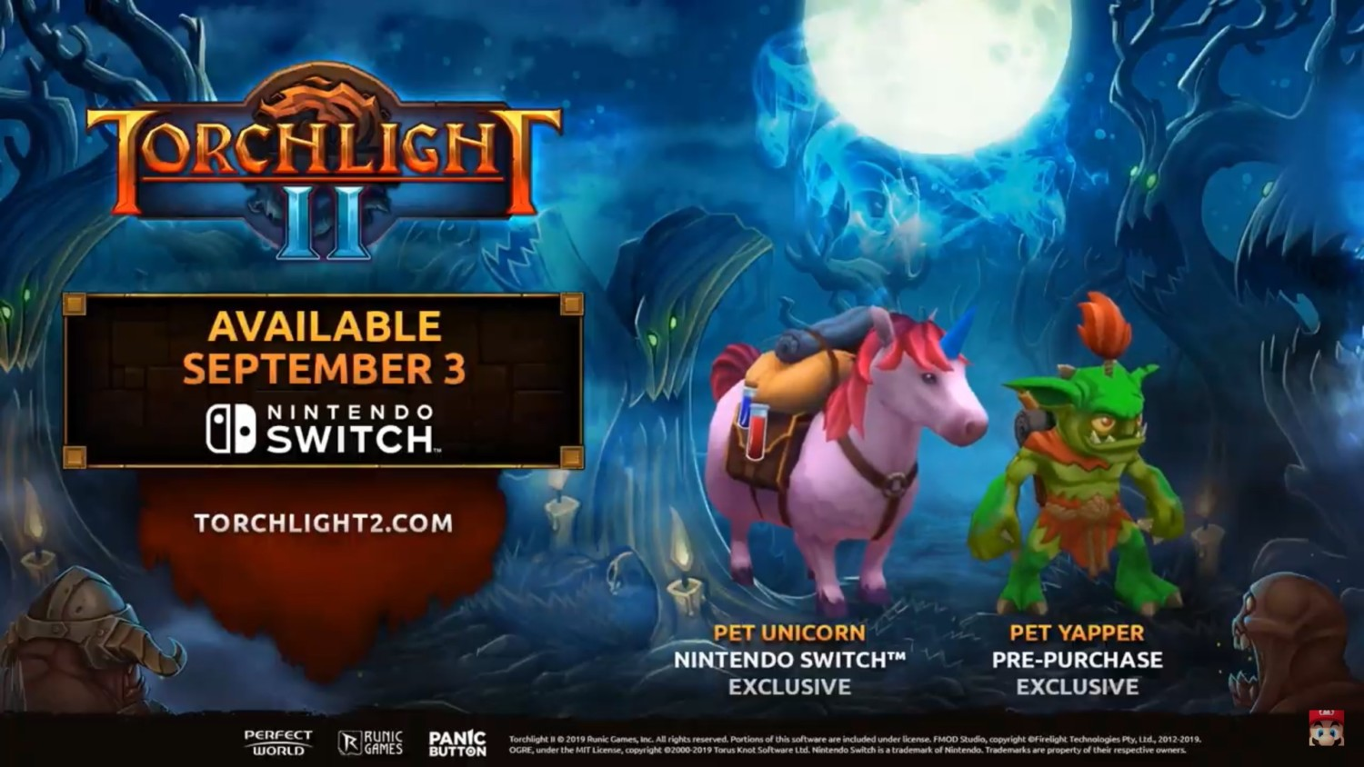 Torchlight II Finally Headed To Switch On September 3rd