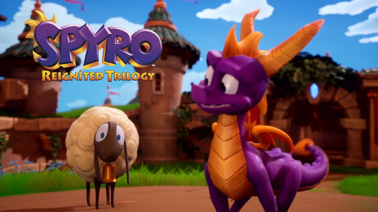 Check Out The Spyro Reignited Trilogy Switch Launch Trailer