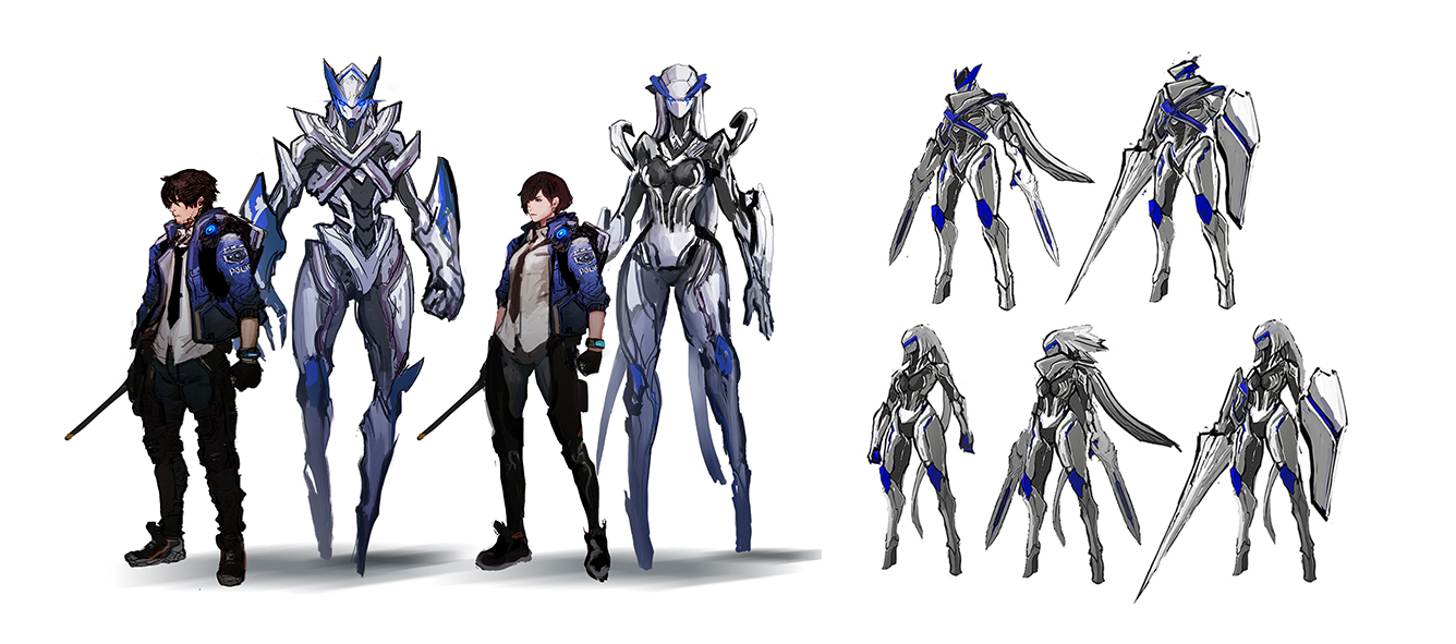 Astral Chain Art Director Shares How They Designed The Legion Family