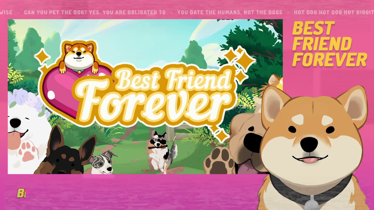 Best Friend Forever Announced For Nintendo Switch