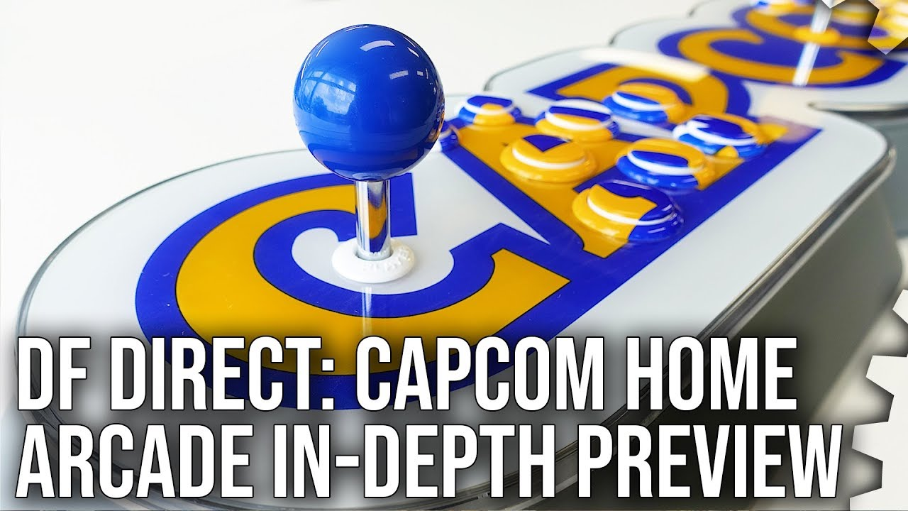 Digital Foundry Takes A Hands-On Look At The Uniquely-Shaped Capcom Home Arcade