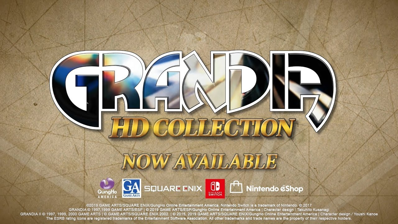 Grandia HD Collection Now Available For Switch, Receives Launch Trailer