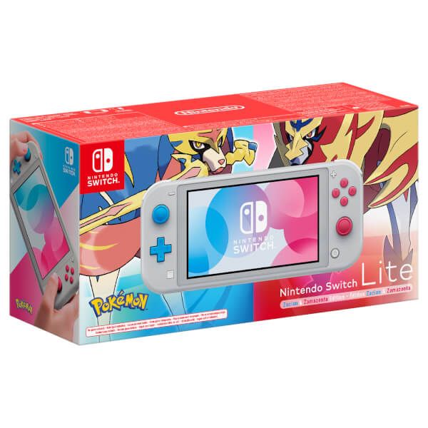First Look At Nintendo Switch Lite Zacian And Zamazenta Edition European Boxart