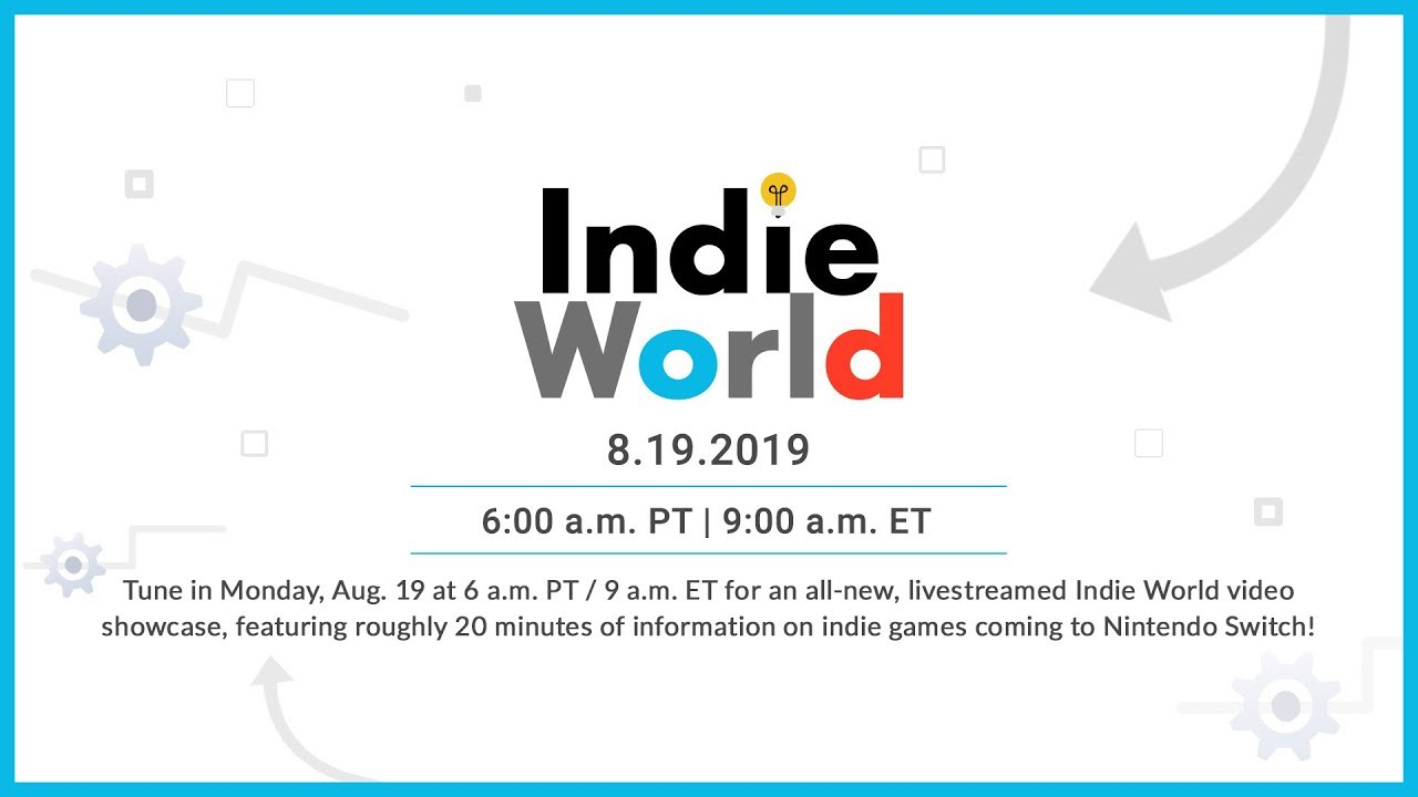 Reminder: Nintendo's Indie World Presentation Starts In Less Than One Hour