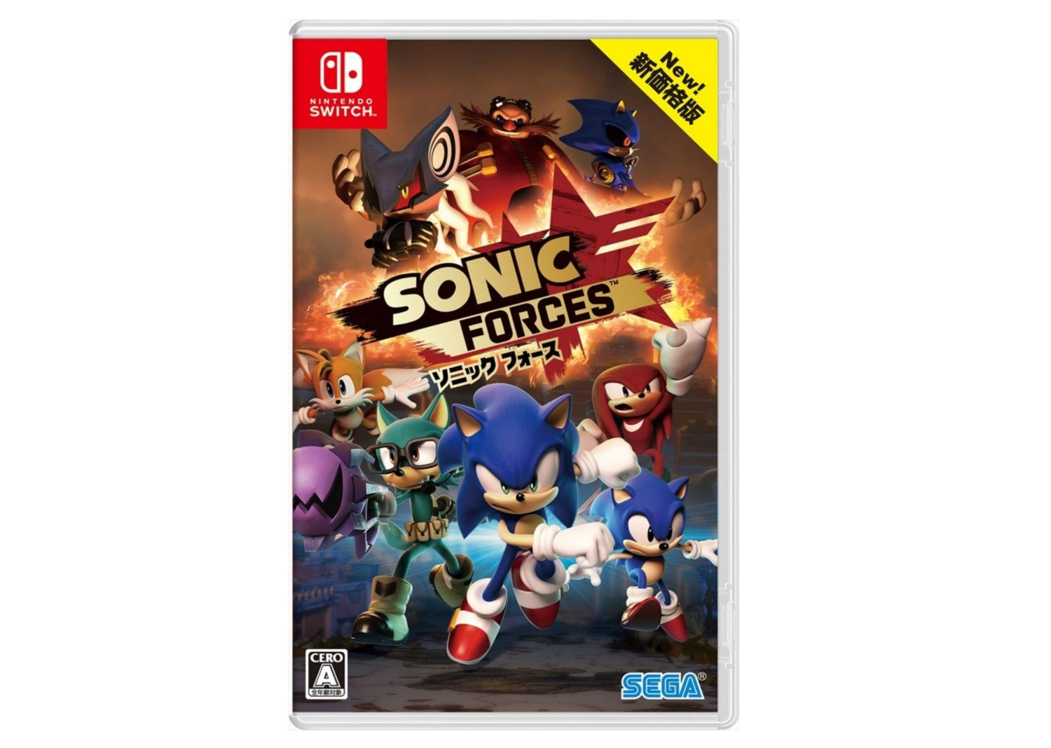 Sonic Forces Budget Edition Announced In Japan, Up For Pre-Order