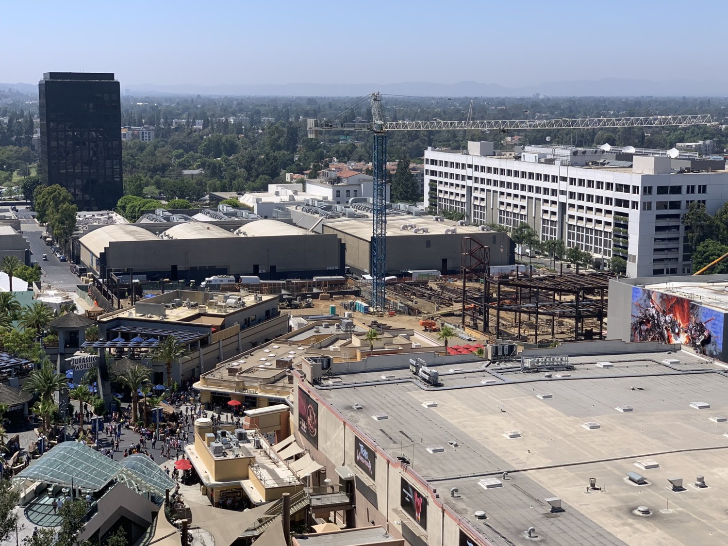 This Is How Construction Of Super Nintendo World Is Going At Universal Studios Hollywood