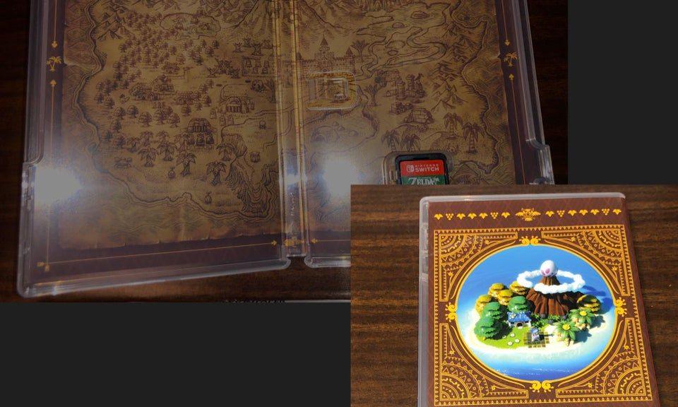 The Legend Of Zelda Link S Awakening S Dreamer Edition Has