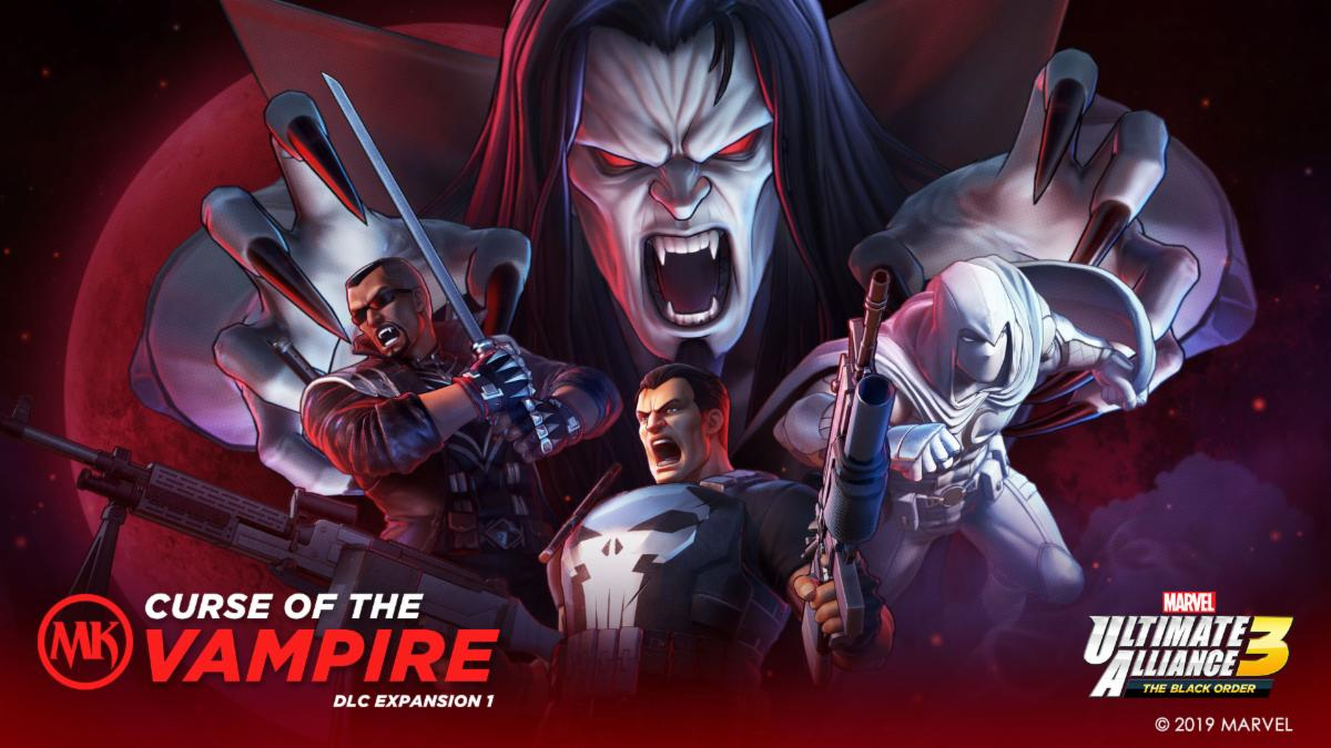 Marvel Knights DLC Available Today For Marvel Ultimate Alliance 3: The Black Order