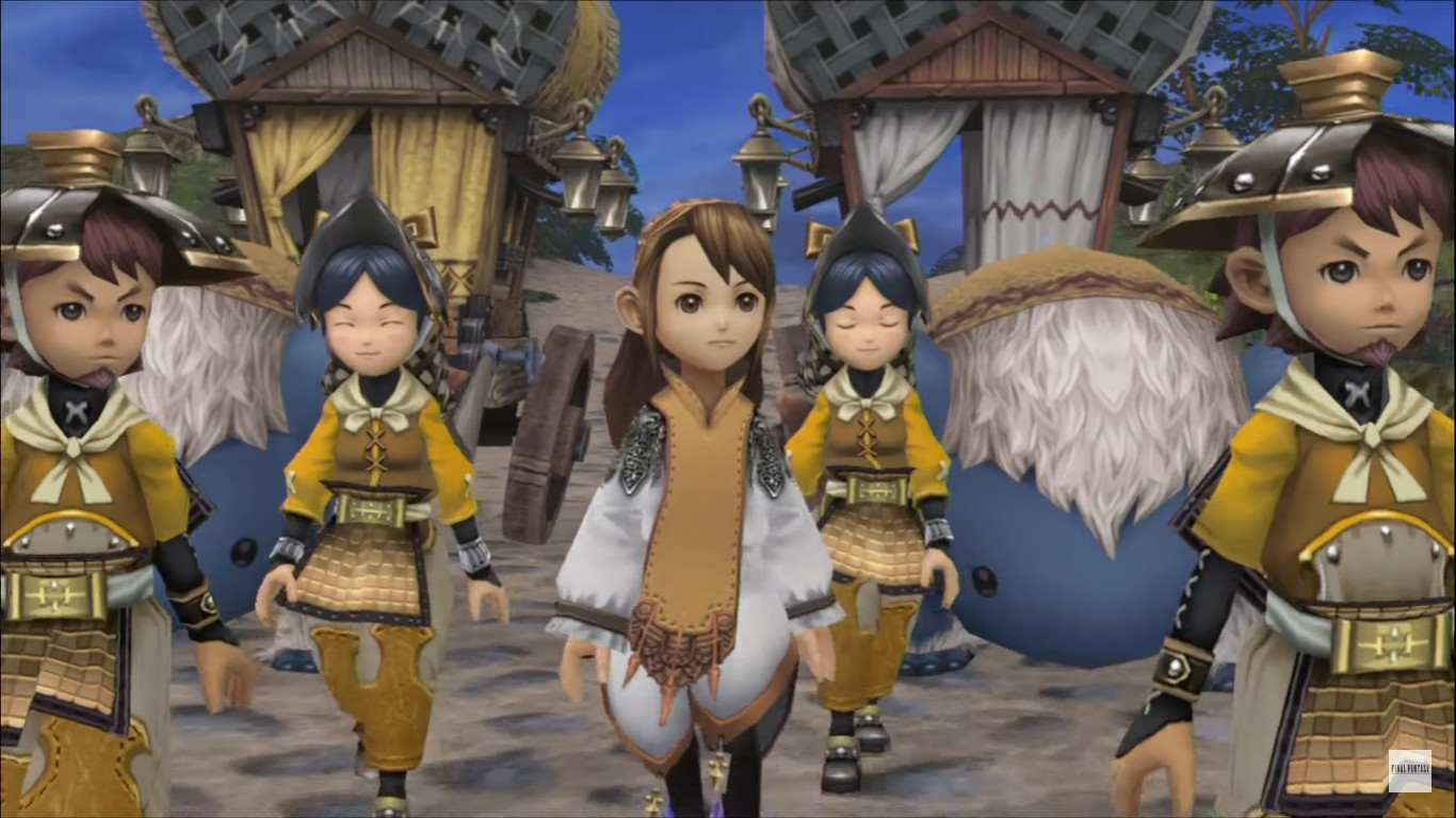 Final Fantasy Crystal Chronicles Remastered Edition Set For Switch
