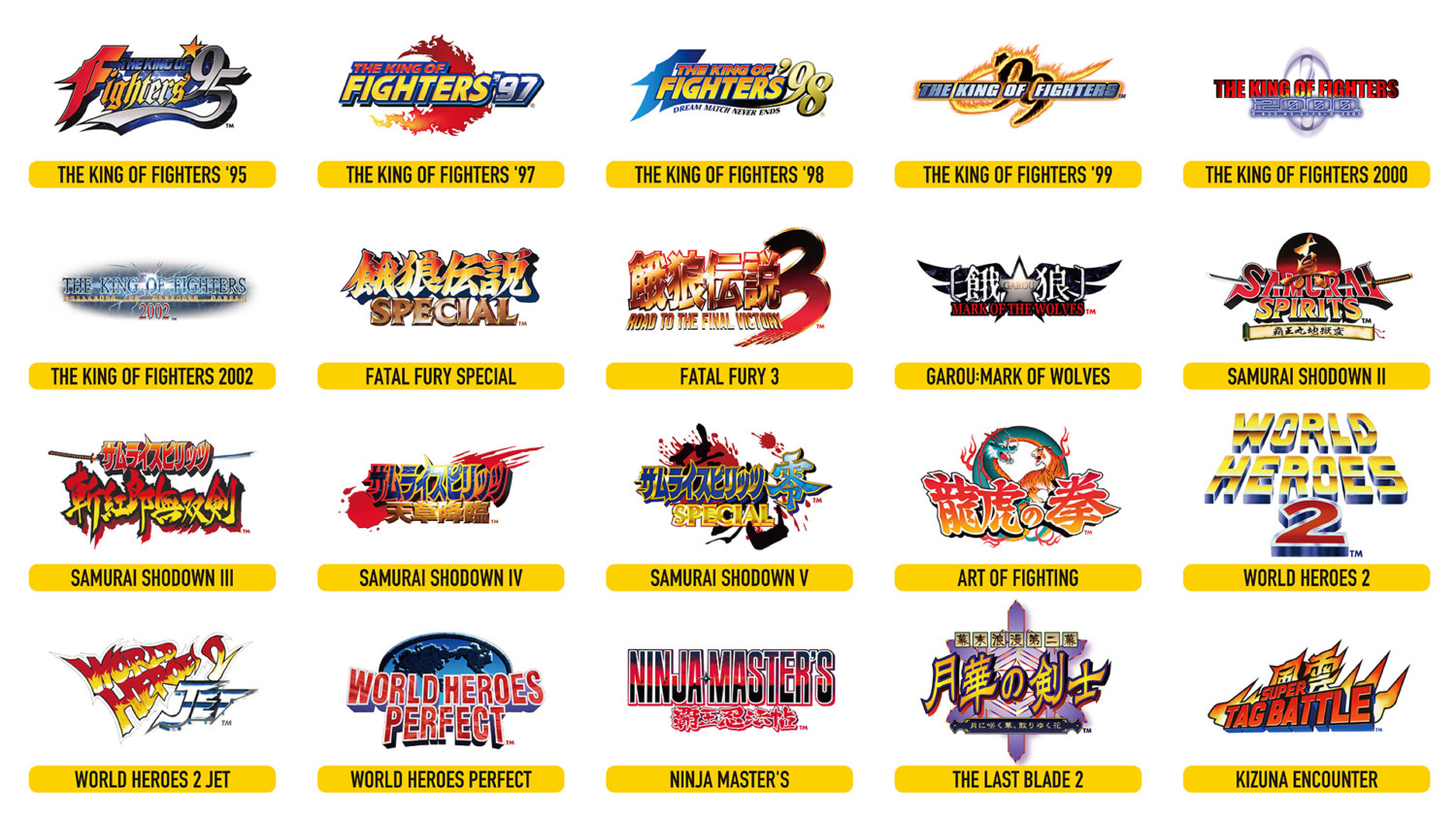SNK Reveals The 20 Pre-Installed Games For NEOGEO Arcade Stick Pro, Plus More Features