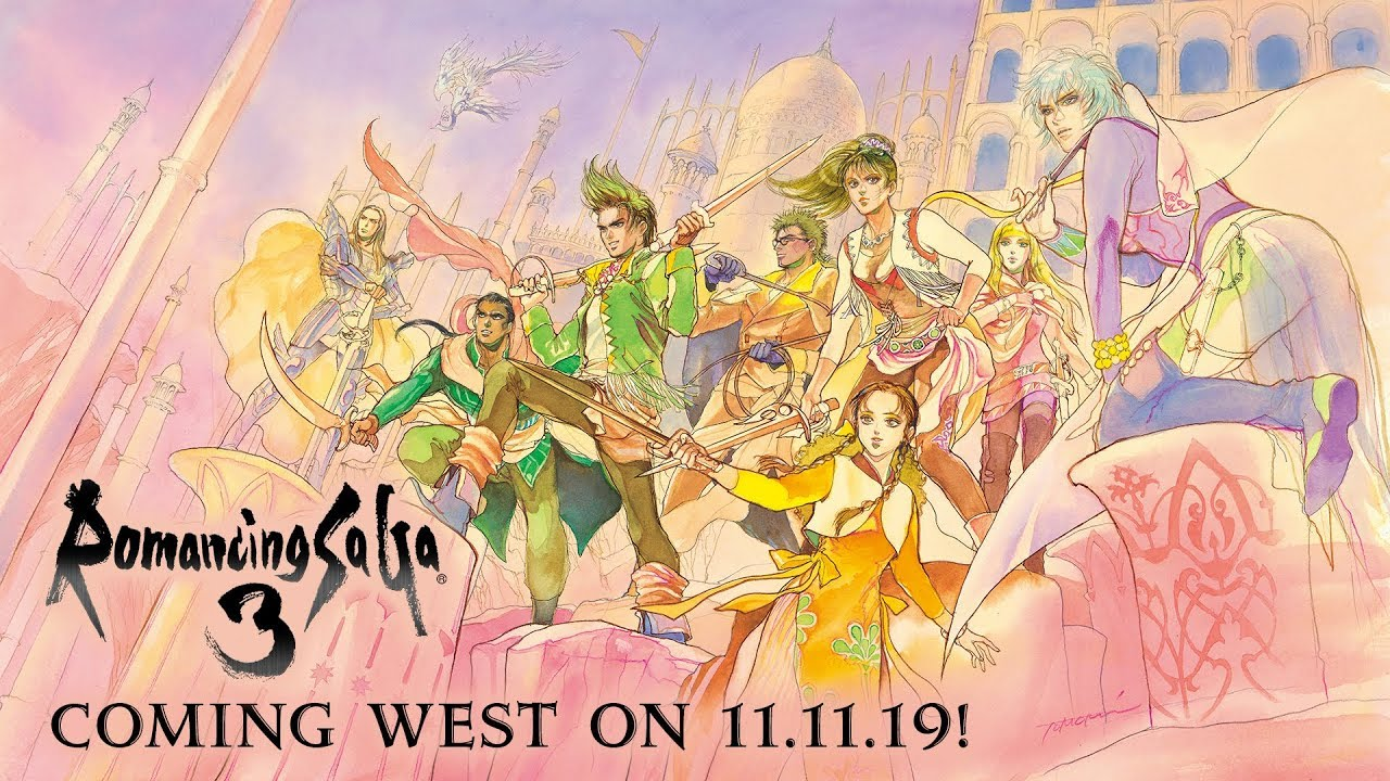 Romancing Saga 3 Out In North America