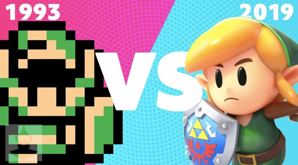 Comparing The Remastered Link S Awakening To The Original