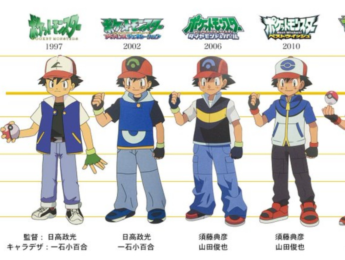Look At How Ash Ketchum Has Evolved In 22 Years