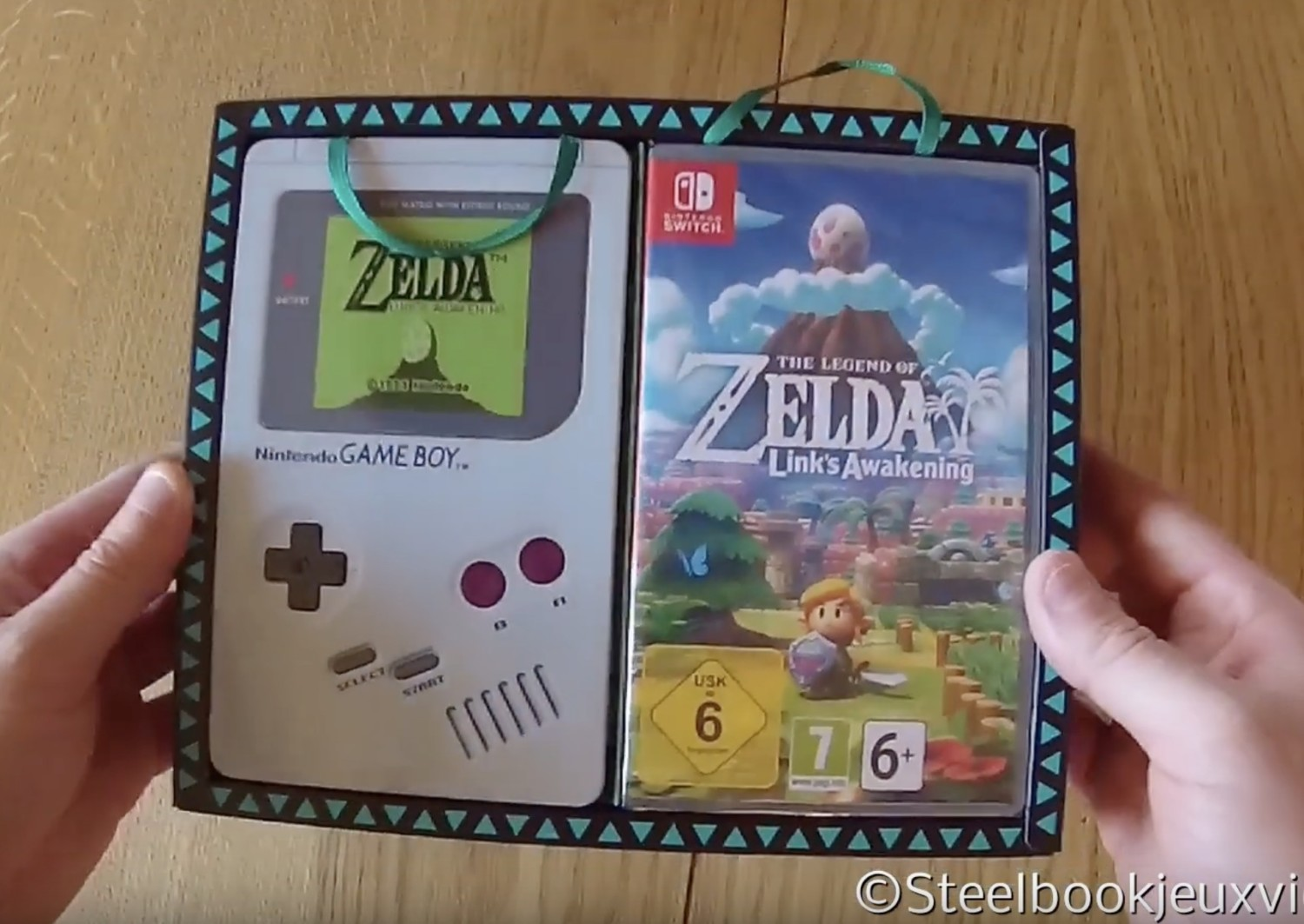 First Unboxing Video Of The Legend Of Zelda: Link's ...
