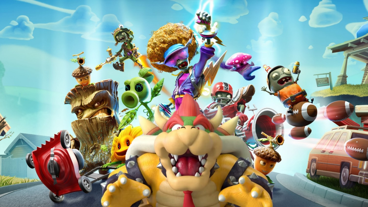Bowser's Theme From New Super Mario Bros. Wii Sounds Similar To a Song In Plants Vs. Zombies: Battle For Neighborville