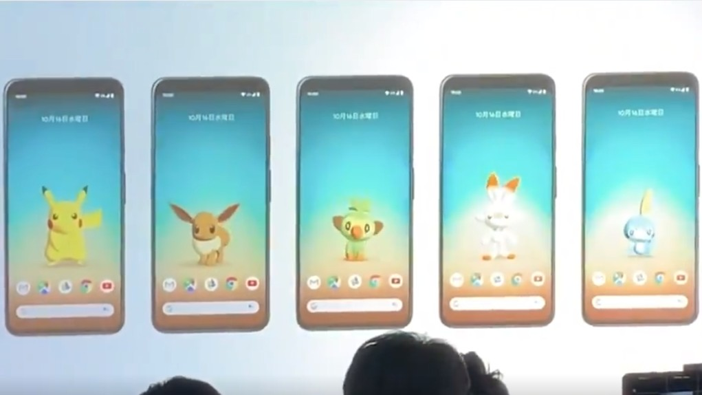 Motion Sensing Pokemon Wallpapers Revealed For Googles