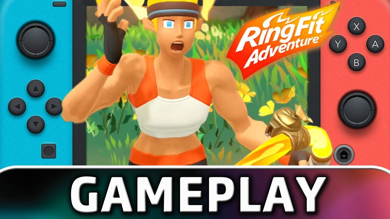 Check Out the First 25 Minutes Of Ring Fit Adventure On Switch