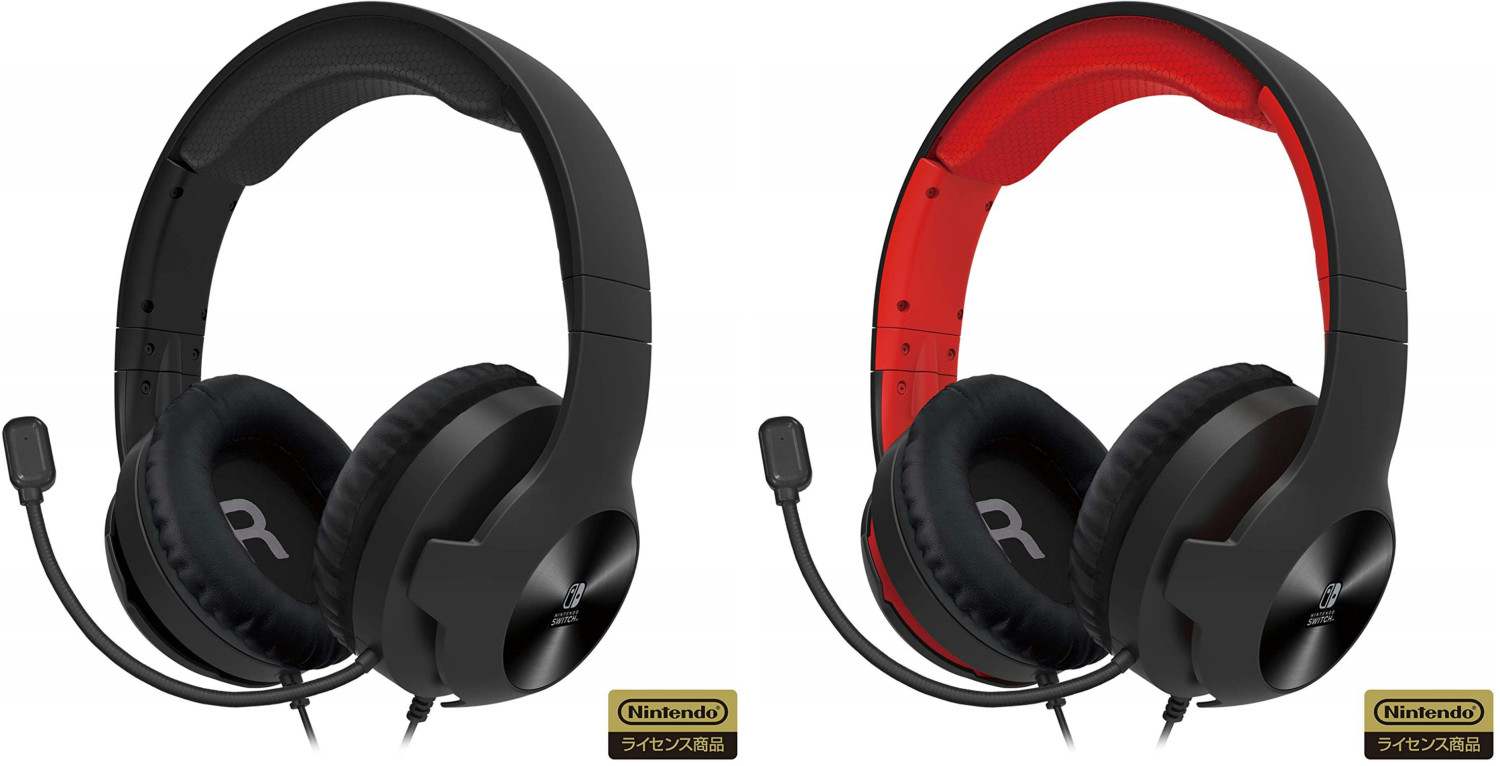 Standard HORI Gaming Headset For Switch Launches November 2019
