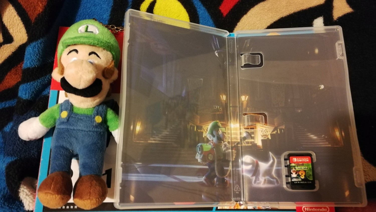 First Look At Luigi S Mansion 3 Inner Cover Art Nintendosoup