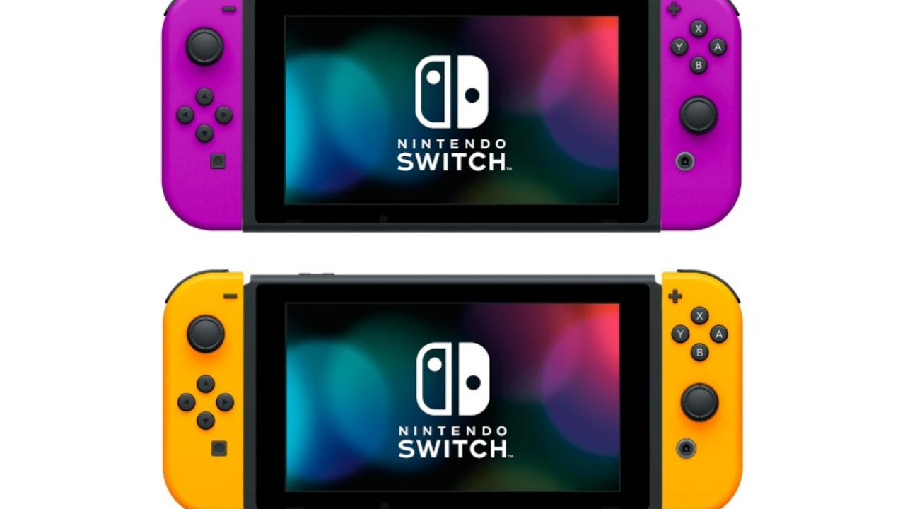 You Can Get Full Neon Purple And Neon Orange Joy-Con From My Nintendo Store Japan | NintendoSoup