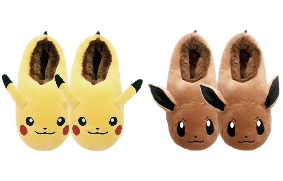 Pokemon Slippers (Pikachu Eevee