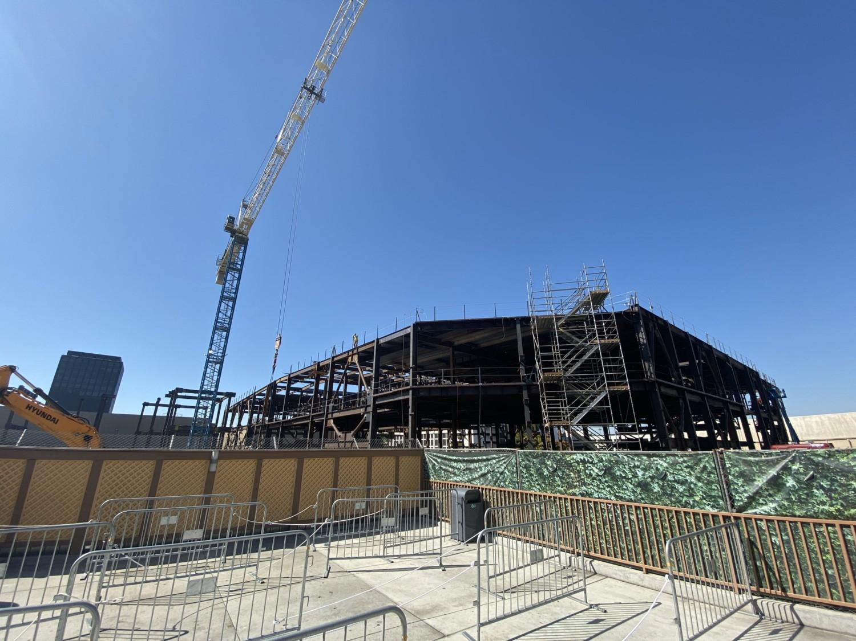Super Nintendo World Construction Continues To Progress At Universal Studios Hollywood