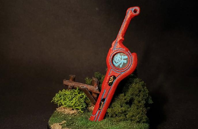 Fan-Art: Check Out This Beautiful Custom Amiibo Of The Monado