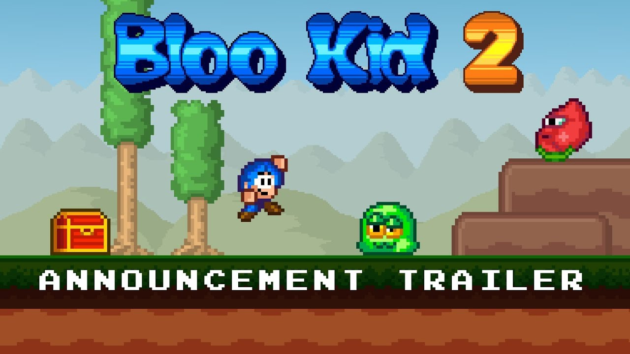 Bloo Kid 2 Announced For Nintendo Switch