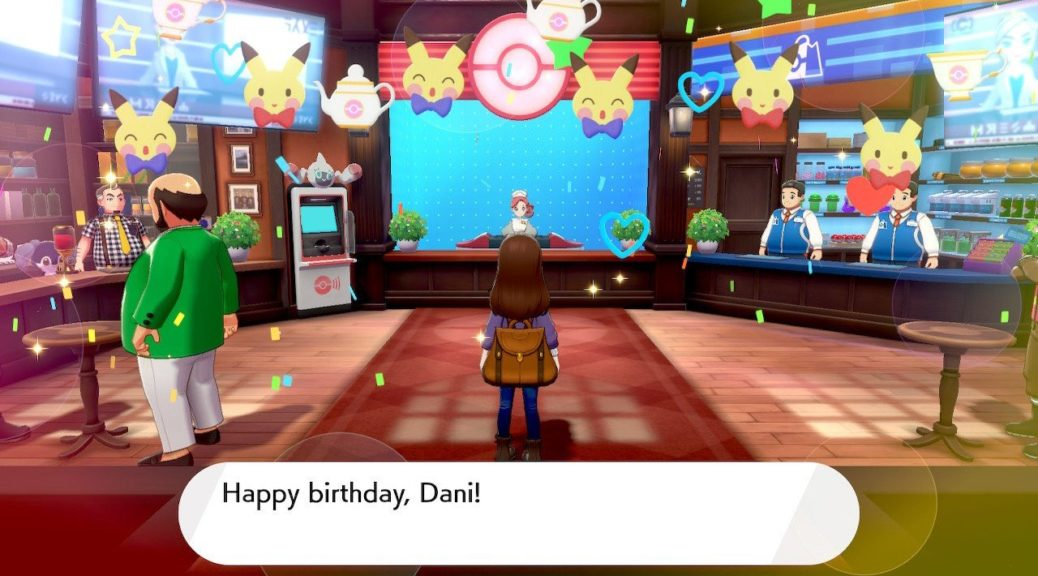 Risultati immagini per happy birthday pokemon sword