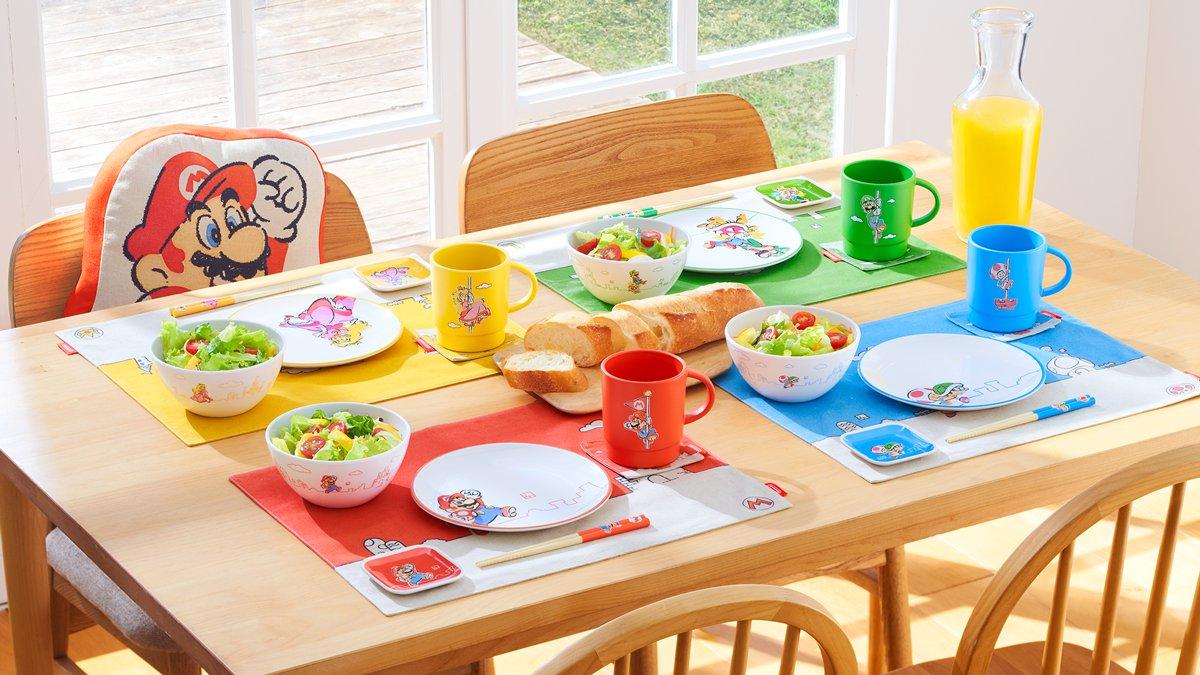 Nintendo Tokyo Exclusive Super Mario Family Life Merch Revealed