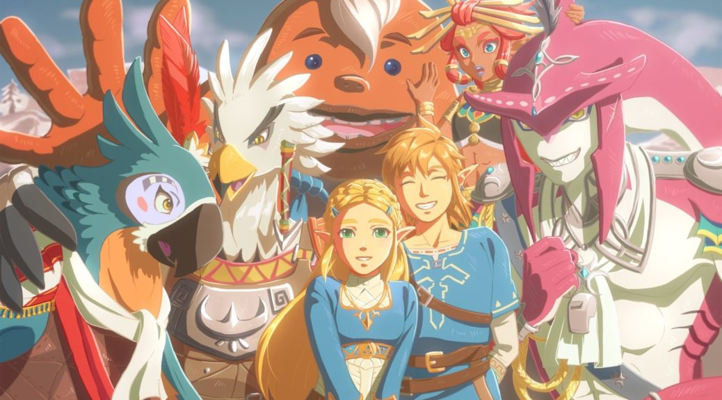 Fan Art The Real Champions Of The Legend Of Zelda Breath Of