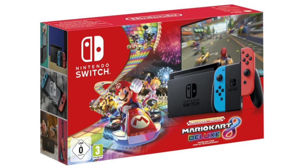 Nintendo Switch Mario Kart 8 Deluxe Pack Heading To Europe