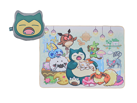 Pokemon Center Original Snorlax/'s yawn Embroidery iPhone Xs//X Soft jacket