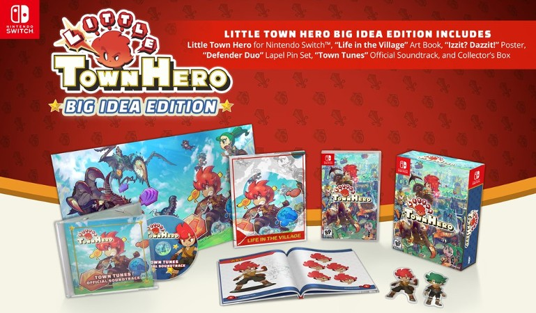 Little Town Hero Big Idea Edition Launches This June For Nintendo Switch   NintendoSoup