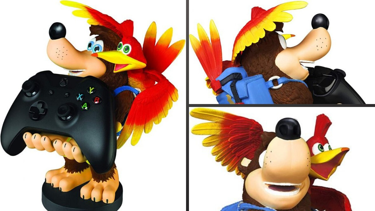 Merchoid Reveals Banjo-Kazooie 'Cable Guy' Phone And Controller Holder
