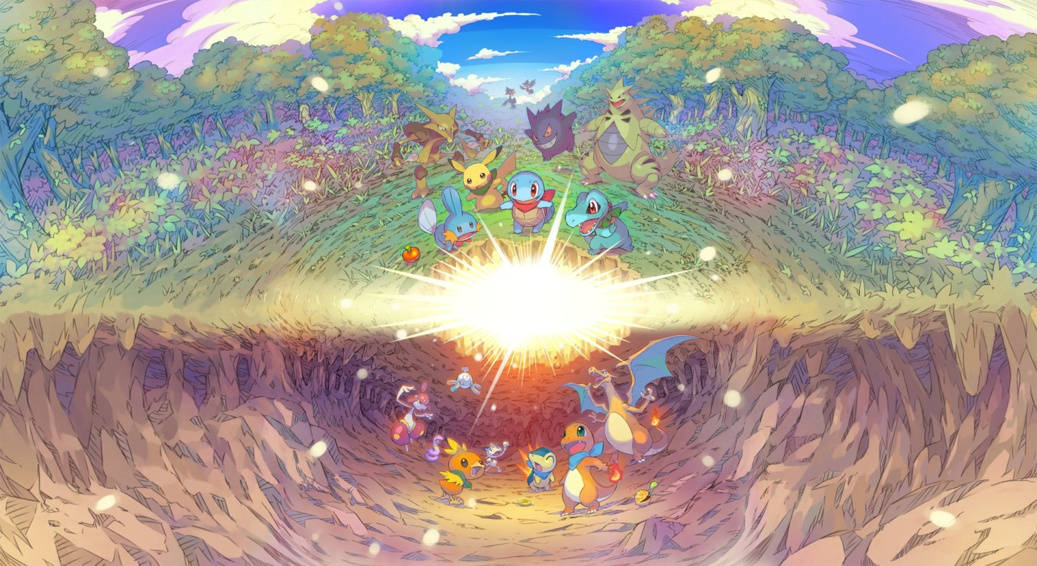 Datamine: All Additional Pokemon And Mega Evolutions For Pokemon Mystery Dungeon Rescue Team DX