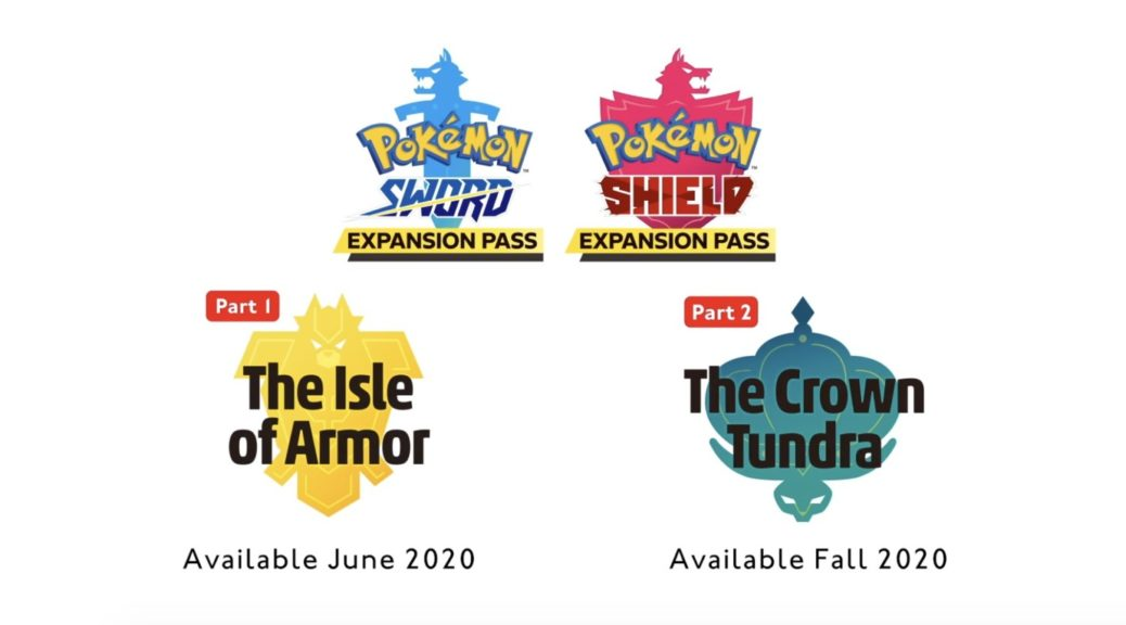 Pokémon The Isle of Armor e The Crown Tundra