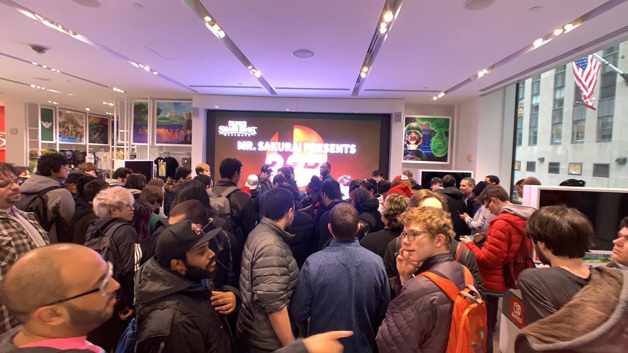 This Is How Nintendo NY Reacted To The Super Smash Bros. Ultimate Byleth Reveal